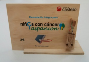 Hazlo por ellos.Fusteria Castelló lanza su primera campaña solidaria, donde se recaudarán fondos destinados a niños con cáncer.